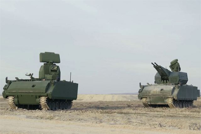 Korkut 35mm short range air defense system Aselsan FNSS Turkey Turkish army defense industry 640 001