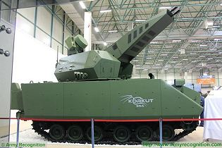Korkut self-propelled air defense 35mm gun system vehicle technical data sheet specifications pictures video description information intelligence identification images photos Aselsan Turkey Turkish army vehicle defence industry military technology