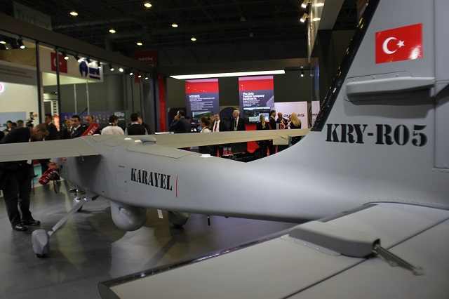 Karayel Tactical UAV High Tech Port 2016 2