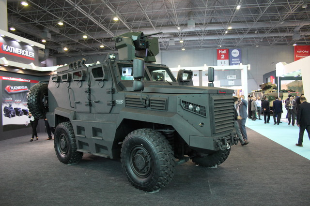 Katmerciler Armored Combat Vehicle HIZIR unveiled for the first time at High Tech Port 640 001