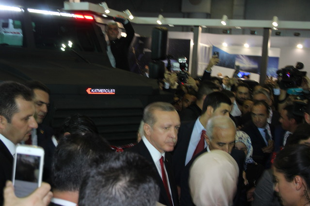 Katmerciler Armored Combat Vehicle HIZIR unveiled for the first time at High Tech Port 640 002