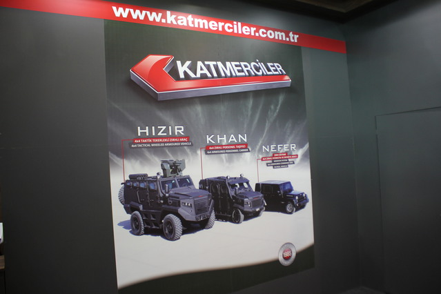 Katmerciler introduces the NEFER Armor System at High-Tech Port 2016 640 001