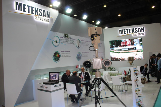 Meteksan unveils its Retinar OPUS Integrated Radar and Camera Surveillance Suite 640 001