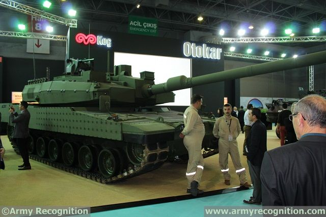 Otokar Altay MBT High Tech Port 1