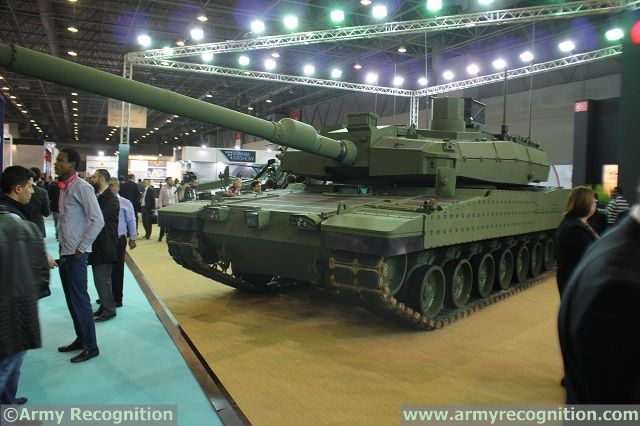 Otokar Altay MBT High Tech Port 2