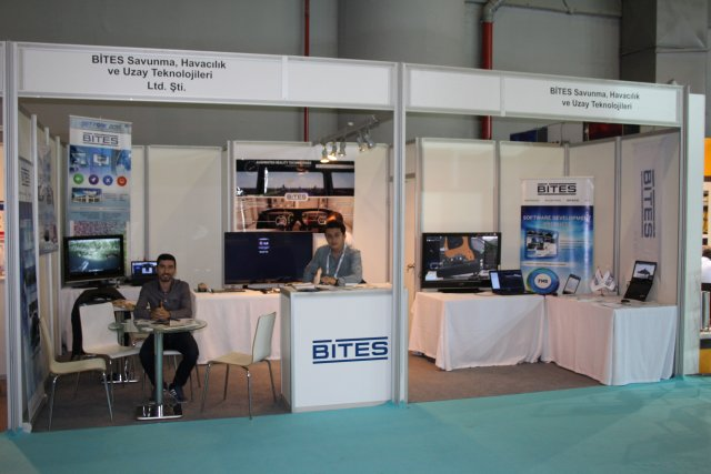 The Turkish company BITES presents its simulation training solutions at High Tech Port 2016-001