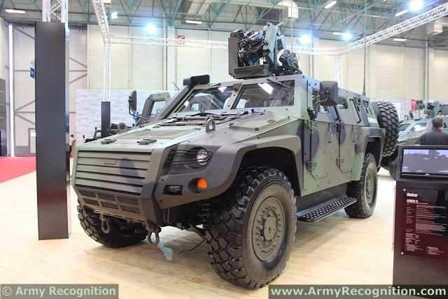 Otokar also expands its range of tactical wheeled armored vehicles with new products. The Turkish Company Otokar unveils the new member of COBRA family, the COBRA II at IDEF 2013, the International Defence Exhibition in Turkey.