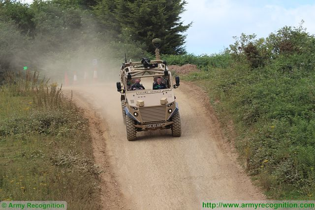 Military vehicles test range of Millbrook in United Kingdom presents its capabilities at IDEF 2015 640 001