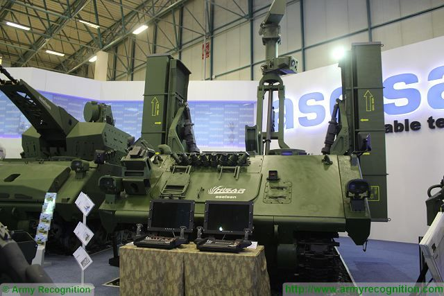 HISAR-A Aselsan low altitude air defense missile system IDEF 2015 International defense industry fair Turkey 001