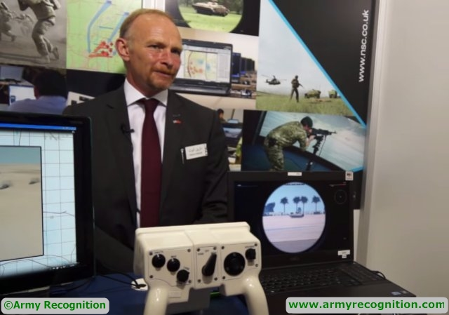 Training and simulation services provided by NSC presented during IDEF 2015 640 001