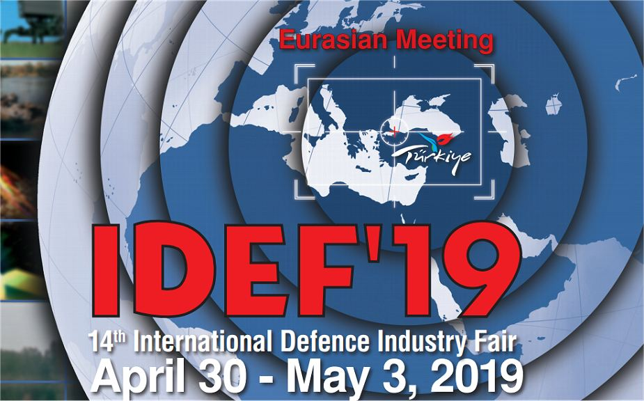 IDEF 2019 International Defense Industry Fair Exhibition Istanbul Turkey 925 001