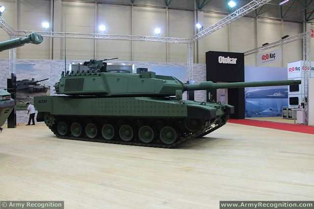 Altay Mbt Main Battle Tank Technical Data Pictures Video