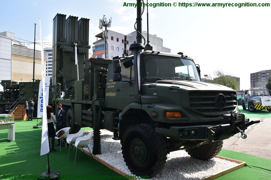 HISAR O medium range air defense missile system Turkey Turkish army defense industry 925 001