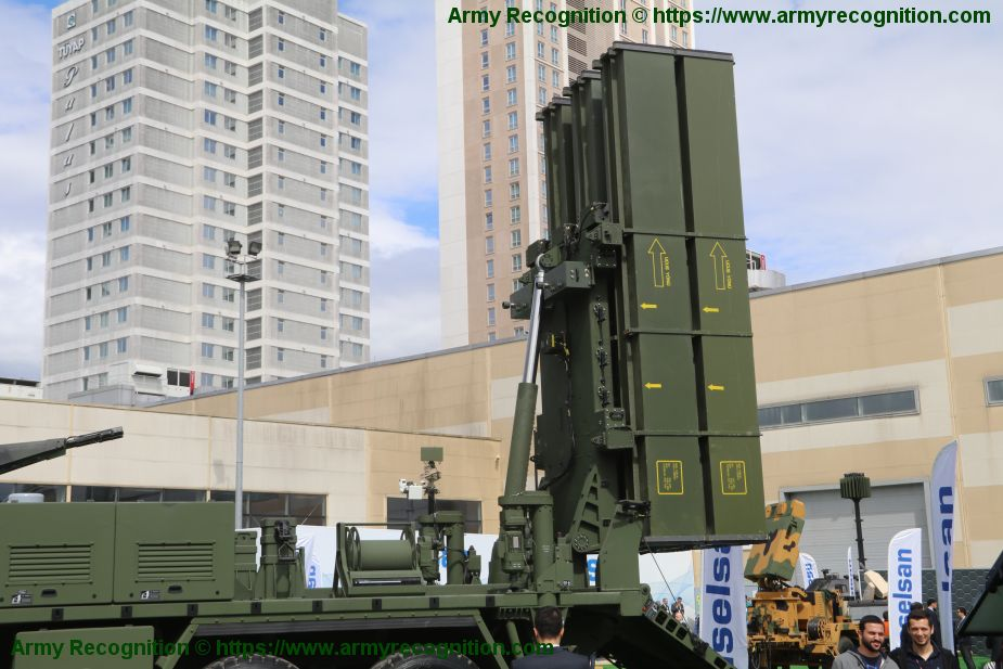 HISAR O medium range air defense missile system Turkey Turkish army defense industry details 925 001