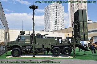 HISAR O medium range air defense missile system Turkey Turkish left side view 001