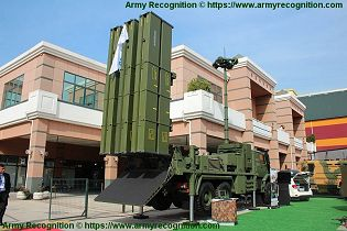 HISAR O medium range air defense missile system Turkey Turkish rear view 001