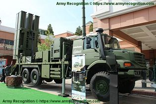 HISAR O medium range air defense missile system Turkey Turkish right side view 001