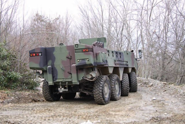 Arma 8x8 wheeled armoured vehicle personnel carrier Otokar Turkey Turkish Defence Industry Military Technology 004