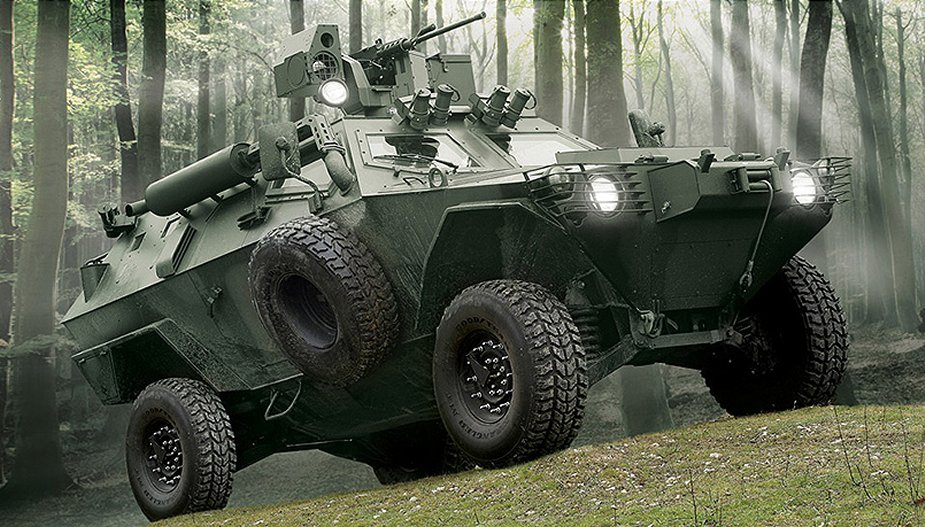 COBRA Otokar APC wheeled armoured vehicle personnel carrier Turkey Turkish 925 000