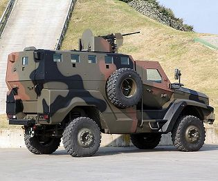Kaya 8x8 Otokar mine resistant troop carrier vehicle technical data sheet specifications description information intelligence identification pictures photos images video Turkey Turkish army vehicle defence industry military technology