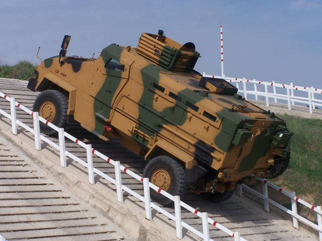 Turkish defense and civil industry firm Otokar has inked an agreement to provide tactical armored vehicles to the security forces amid the government's problems with BMC, which promised to deliver Kirpi armored carriers but has been unable to deliver orders on time. Otokar said yesterday that it planned to deliver the order, which is worth 82 million Turkish Liras, in 2013. The agreement encompasses the provision of various types of tactical wheeled armored vehicles