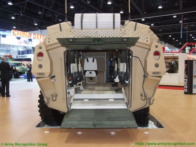PARS 8x8 FNSS wheeled armored combat vehicle Turkish Turkey defence industry military technology rear side view