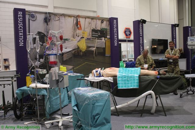 DSEI 2015 defense exhibition also includes medical equipment and innovations 640 001