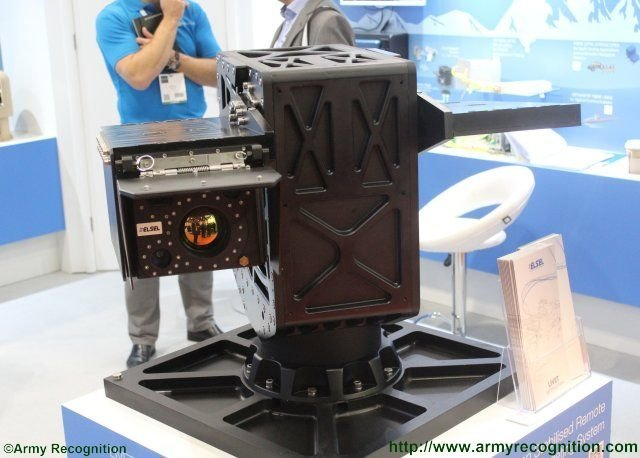 ELSEL LIVET advanced remote controlled weapon station highlighted at DSEI 2015 640 002
