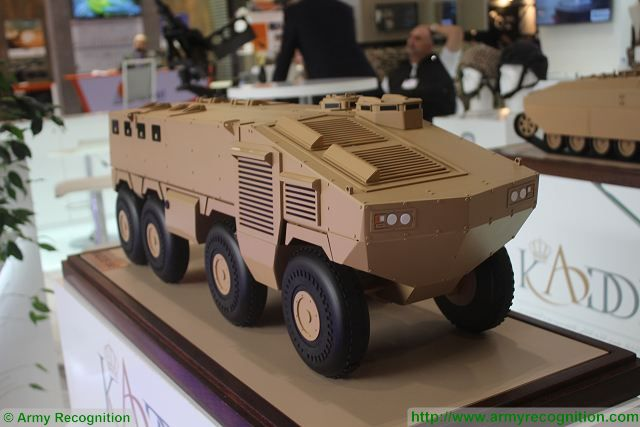 KADDB 8x8 armored personnel carrier Jordan DSEI 2015 International Defense Exhibition in United Kingdom 640 001