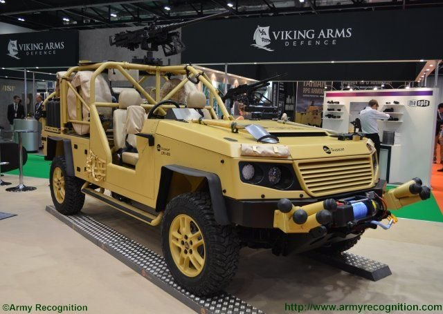 Supacat proposes evolved LRV design at DSEI theLRV400 Mk2 light reconnaissance vehicle 640 001