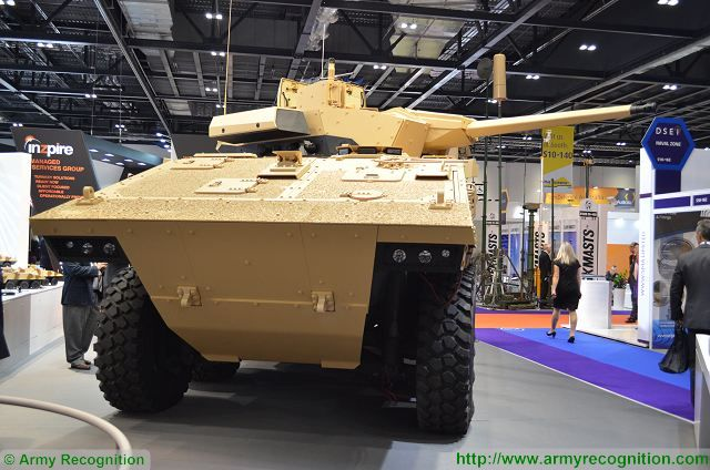 VBCI-2 8x8 infantry fighting vehicle Nexter Systems DSEI 2015 International Defense Exhibition in United Kingdom 640 001