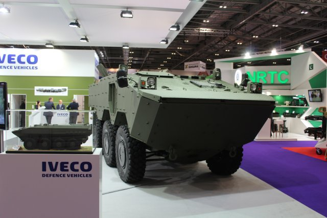 VBTP 6x6 Amphibious armoured vehicle 640 002