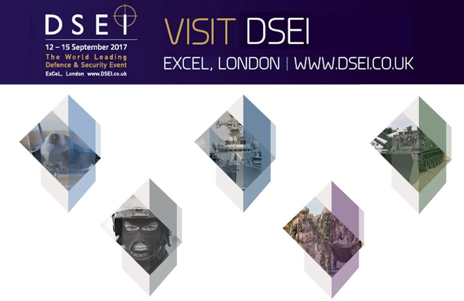 DSEI 2017 Web TV Television pictures photos images video International Defence Security Equipment Exhibition Conference Excel London United Kingdom