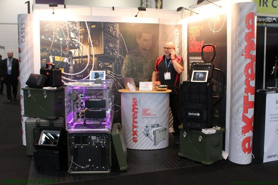 DSEi 2017 Extreme Cases developing new lightweight shock proof backpack 001