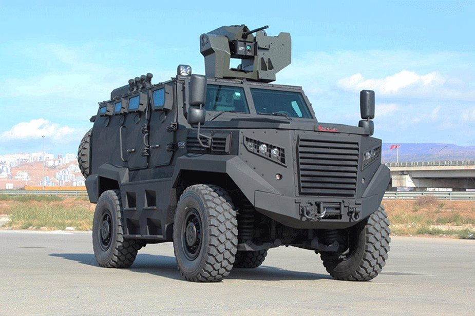 Katmerciler presents its range of armored vehicles at DSEI 2017 640 002