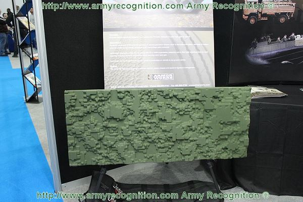 Lightweight appliqués panels of TactiCam can be coated with with infra-red or radar absorbing suppressing materials, and be filled with insulation that can both suppress emissive spectral frequencies, while reducing solar heat gain.
