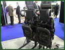 The German Company SCHROTH presents the SBSP and SU-62 mine blast seating at the International Armoured Vehicles conference, taking place on February 21 & 22, 2012 in Farnborough UK.