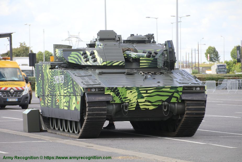 CV 90 Mk IV IFV tracked armored Infantry Fighting Vehicle BAE Systems British United Kingdom defense industry 925 001