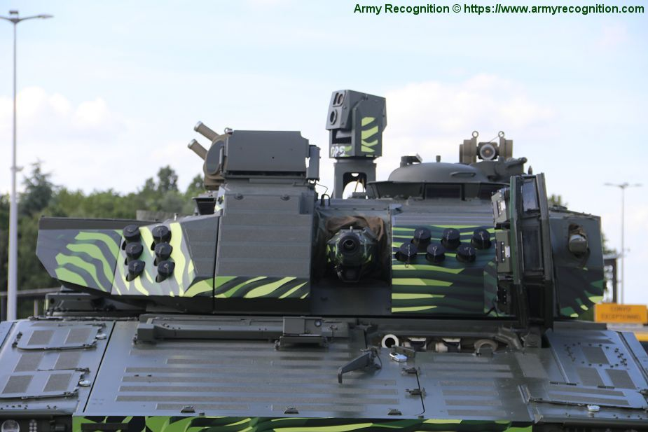 CV 90 Mk IV IFV tracked armored Infantry Fighting Vehicle BAE Systems British United Kingdom defense industry details 001