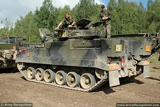 Warrior MCV-80 AIFV Armoured Infantry Fighting Vehicle technical data sheet specifications description information intelligence identification pictures photos images personnel carrier British United Kingdom defence industry army military technology