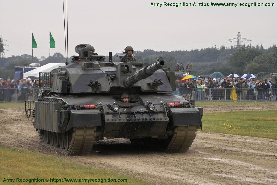 Challenger 2 MBT Main Battle Tank British Army United Kingom 925 001