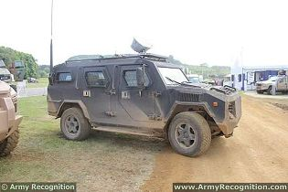 Cobra 4x4 APC Streit Group armored vehicle personnel carrier technical data sheet description information specifications intelligence identification pictures photos images personnel carrier British United Kingdom defence industry army military technology