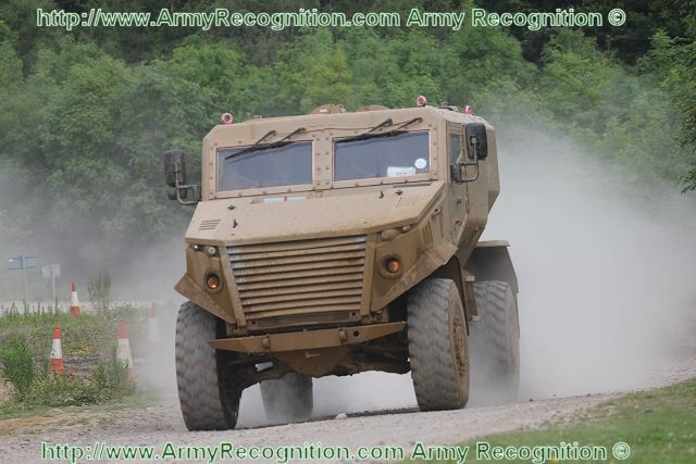 Foxhound LPPV Light Protected Patrol Vehicle United Kingdom British army 008