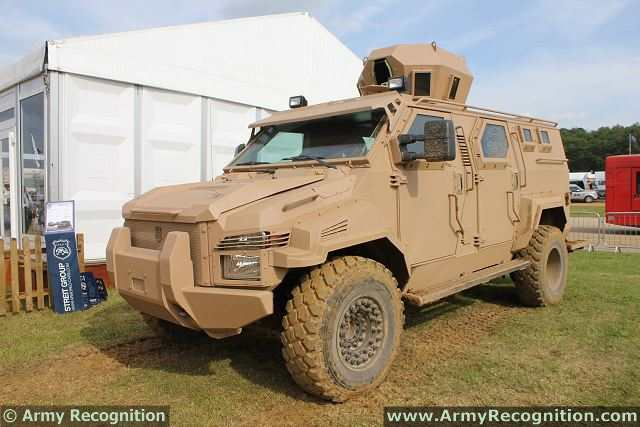 Spartan 4x4 LAV Light Armoured vehicle personnel carrier Streit Group defence industry military technology 640 001