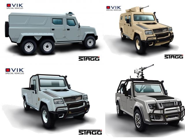 A range of specialist add-on capabilities have been designed for STAGG - including specialist assault platform, public-order body equipment, internal ambulance fit-out, weapon mounting options etc. - Making STAGG a uniquely versatile and cost-effective solution.