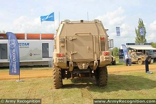 Typhoon 4x4 Streit Group MRAP Mine Resistant Ambush Protected technical data sheet description information specifications intelligence identification pictures photos images personnel carrier British United Kingdom defence industry army military technology