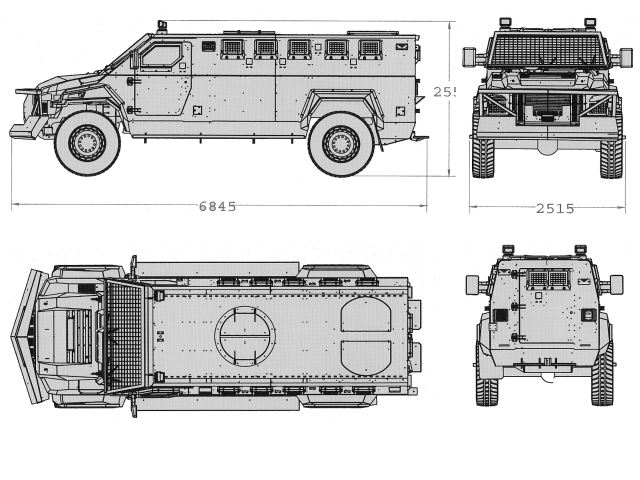 Warrior Streit Group 4x4 APC armored personnel carrier technical data sheet description information specifications intelligence identification pictures photos images personnel carrier British United Kingdom Streit Group defence industry army military technology