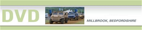 DVD 2015 International wheeled armoured and vehicles exhibition Millbrook United Kingdom