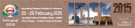 IDEX 2015 International Tri-service Defence Exhibition & Conference