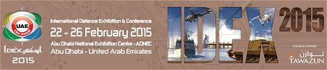 IDEX 2015 news visitors exhibitors information International Defence Exhibition Abu Dhabi United Arab Emirates army military defense industry technology
